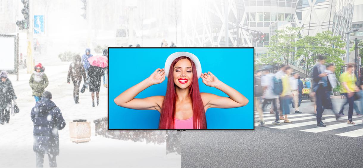 LG monitor signage XS4J