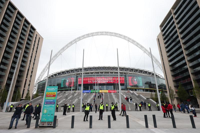 LG allo Stadio di Wembley Euro 2020