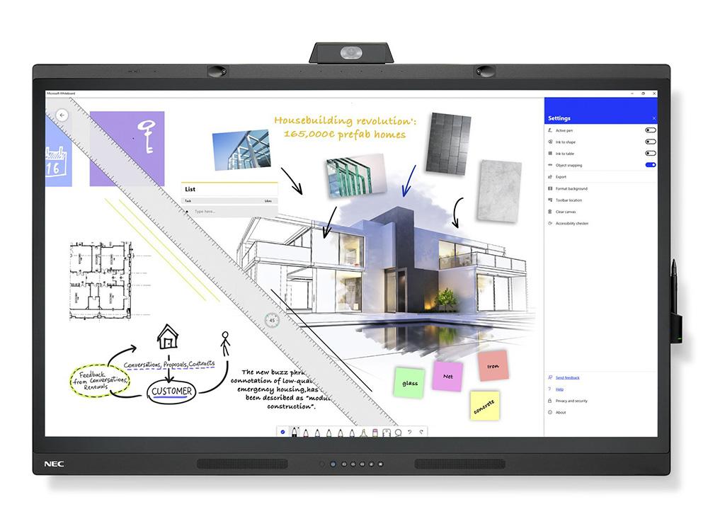 Sharp/NEC display Microsoft